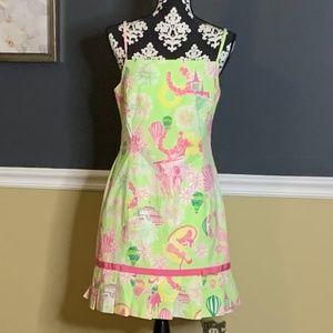 VTG Lilly Pulitzer Derby Days Dress Sz 8 *RARE*